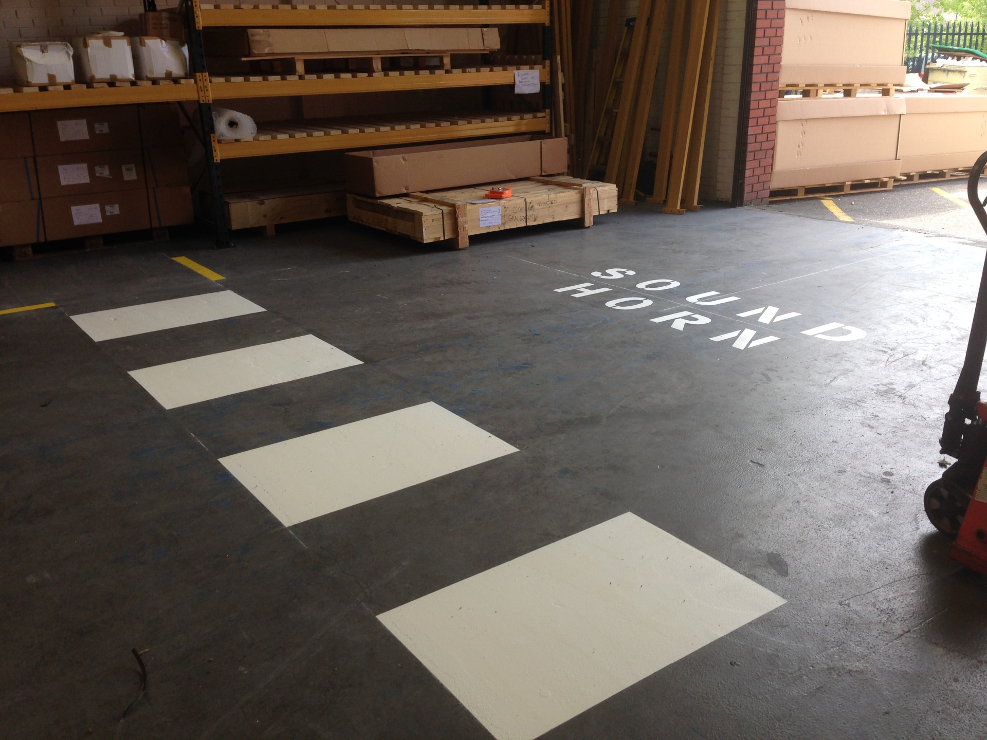 Warehouse markings - Ash, Surrey